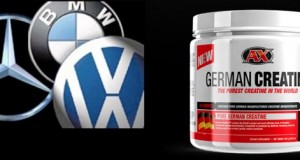 What do German Creatine, BMW, and Porsche, all have in common?