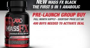 NEW Mass FX Black – 9 Bucks Limited Supply