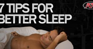 7 Tips for sleep better