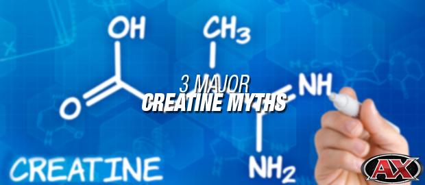 3 Major Creatine Myths